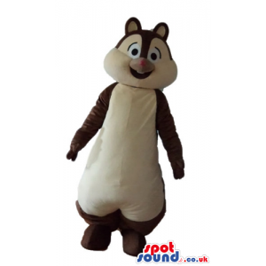 Brown and beige squirrel - your mascot in a box! - Custom