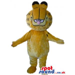 Mascot costume of garfield - Custom Mascots