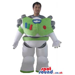 Mascot costume of buzz light year body only - Custom Mascots