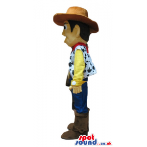 Mascot costume of woody - your mascot in a box! - Custom Mascots