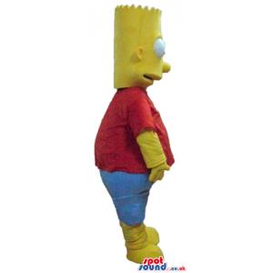 Mascot costume of bart simpson - Custom Mascots