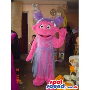 Sesame Street Abby Cadabby Fairy Cartoon Tv Mascot - Custom