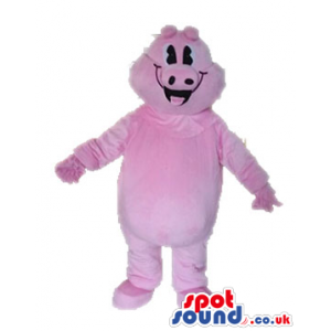 Fat pink pig - your mascot in a box! - Custom Mascots