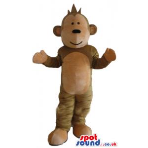 Brown monkey - your mascot in a box! - Custom Mascots