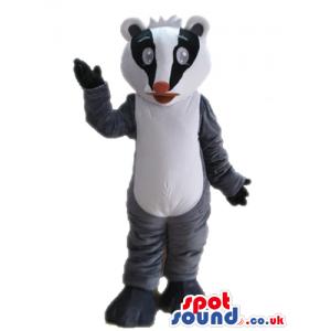 Black, white and grey koala - Custom Mascots