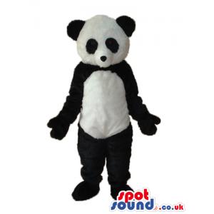 Customizable Plain Young Panda Bear Animal Mascot - Custom