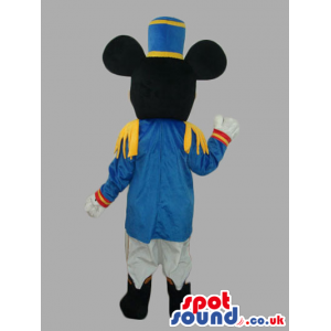 Mickey Mouse Disney Character Mascot Wearing Prince Clothes -