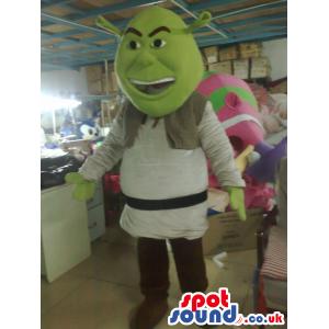 Shrek It Popular Green Ogre Movie Character Mascot - Custom