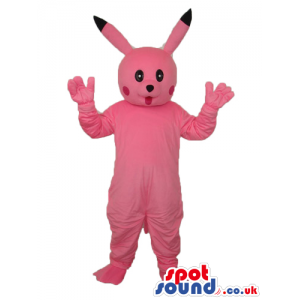 Pikachu Pokemon Popular Pink Tv Character Mascot - Custom