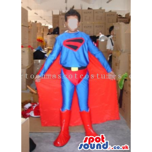 Superhero Costume In Varied Sizes For Halloween And Events -