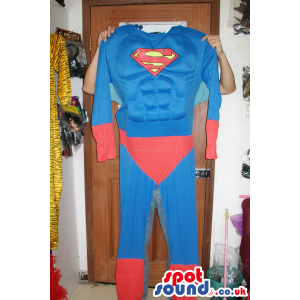 Strong Superman Costume In Varied Sizes For Halloween And