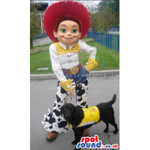 Cowboy Jessie Character From Toy Story Popular Movie - Custom