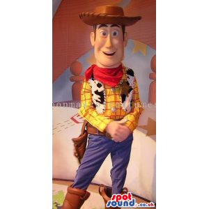 Cowboy Woody Character From Toy Story Popular Movie - Custom