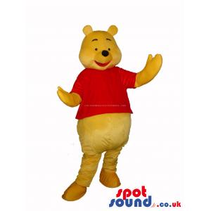 Winnie It Pooh Tv Cartoon Character Bear Plush Mascot - Custom