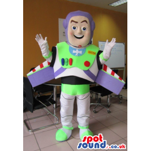 Famous Buzz It Astronaut Cartoon Toy Story Movie Character -
