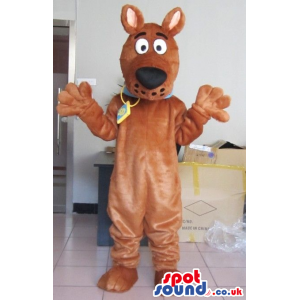 Scooby-Doo Dog Cartoon Character Animal Plush Mascot - Custom