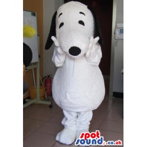 Popular Snoopy White Dog Animal Cartoon Character Mascot -