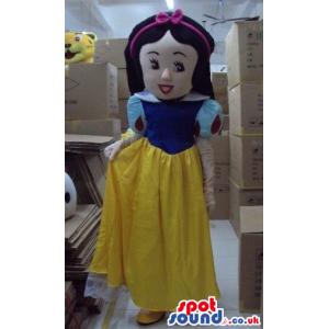 Snow White Girl Beautiful Children Story Disney Character