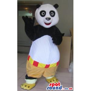 Kung Fu Panda Popular Movie Character Plush Mascot - Custom