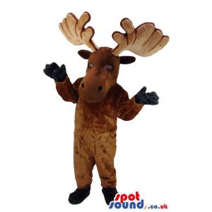 Cute reindeer mascot to your house for this christmas - Custom