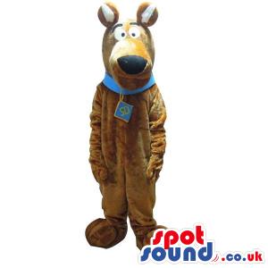 Scooby-Doo Brown Dog Popular Cartoon Character Mascot - Custom