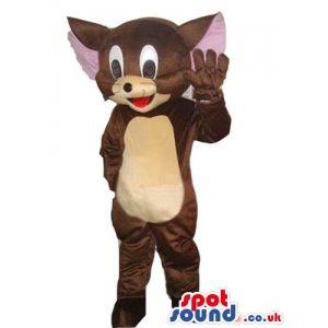 Tom And Jerry Cartoon Character Jerry Mouse Plush Mascot -