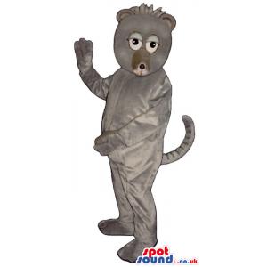 Customizable Cute Exotic Grey Monkey Animal Plush Mascot -