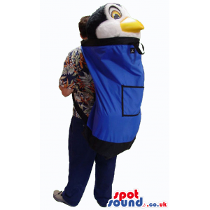 Comfortable Blue Rucksack Bag To Transport Your Mascot Safely -