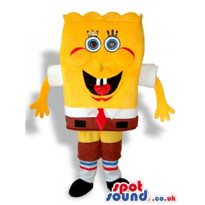Sponge Bob Square Pants Cartoon Character Plush Mascot - Custom