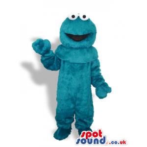 Sesame Street Cookie Monster Blue Hairy Character Mascot -