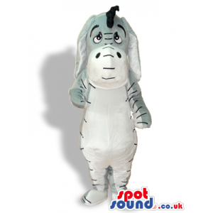 Cute Winnie It Pooh Donkey Cartoon Character Mascot - Custom