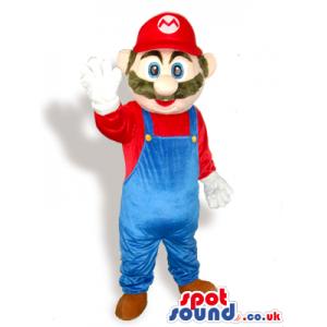 Super Mario Bros. Popular Video Game Character Mascot - Custom