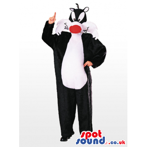 Sylvester Cat Popular Cartoon Adult Size Disguise Or Mascot -