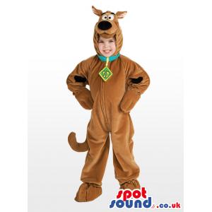 Popular Scooby-Doo Dog Character Children'S Costume - Custom