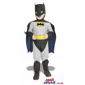 Cool Batman Super Hero Character Children Size Disguise -