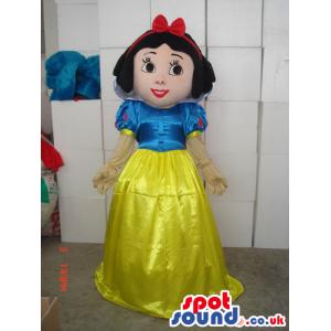 Snow White Children Story Disney Character Mascot - Custom