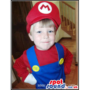 Super Mario Bros. Popular Video Game Children Costume - Custom