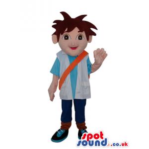 Dora The Explorer Cartoon Tv Series Main Boy Character - Custom
