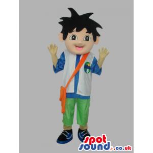 Dora The Explorer Cartoon Series Main Boy Character - Custom