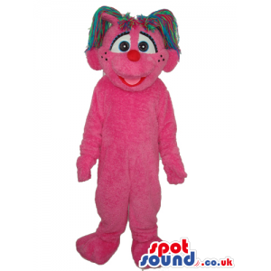 Sesame Street Abby Cadabby Plain Fairy Cartoon Tv Mascot -