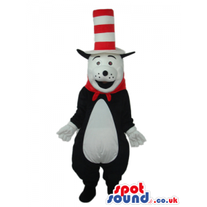 It Cat In It Hat Cartoon Children'S Story Character Mascot -