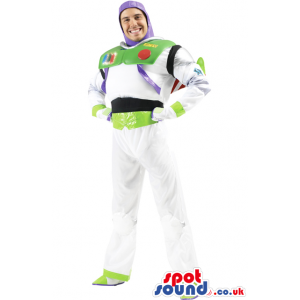 Buzz Astronaut Toy Story Character Adult Size Costume Or Mascot