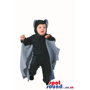Cute Halloween Bat Baby Size Plush Costume Disguise - Custom