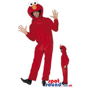 Elmo Sesame Street Character Adult Size Costume Or Mascot -