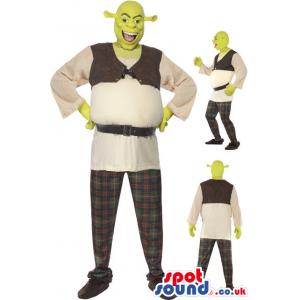 Shrek Movie Character Adult Size Costume Or Mascot - Custom