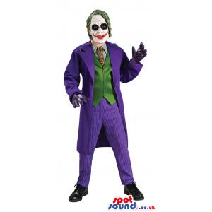 Great Joker Batman Movie Character Adult Size Costume - Custom