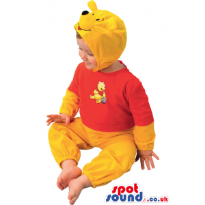 Cute Winnie The Pooh Bear Children Size Costume Or Disguise -