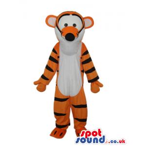 Cute Winnie It Pooh Tv Cartoon Tiger Character Plush Mascot -