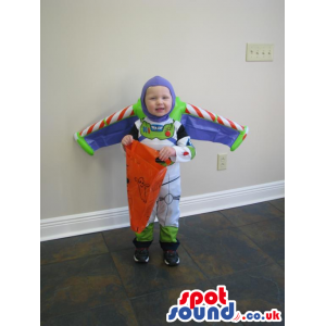 Cute Buzz Toy Story Character Baby Child Size Costume Disguise