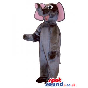 Grey Elephant Children Size Plush Costume Or Disguise - Custom